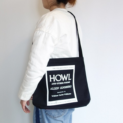 City Lights Book Store : HOWL Shoulder Bag_a0234452_19011255.jpg