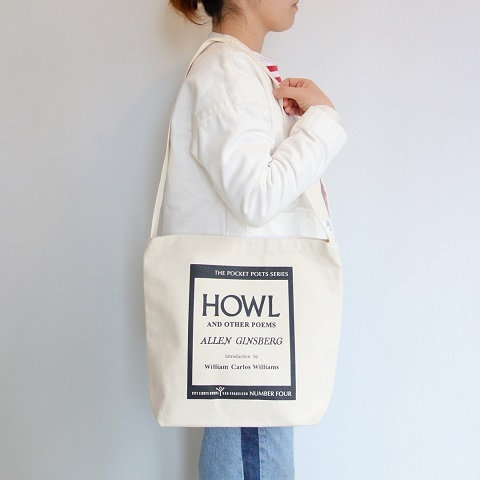 City Lights Book Store : HOWL Shoulder Bag_a0234452_19012632.jpg