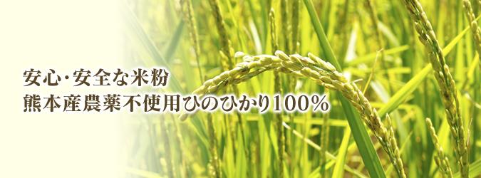 無農薬栽培『米粉』大好評販売中!熊本県菊池市七城町で無農薬栽培のひのひかり100%使用の米粉です!!_a0254656_19020180.jpg