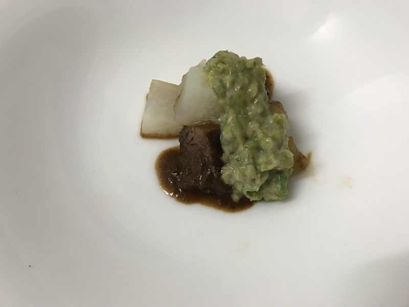 2月の料理「猪・大根・蕗の薹」_d0177560_15373463.jpg