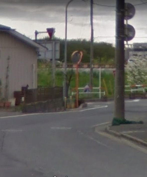 朝霞岡橋信号付近の「止まれ」気を付けろ!隠れて見てるぞ!_d0061678_16074837.jpg