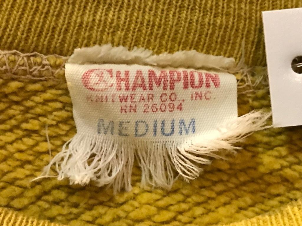 神戸店2/21(水)Vintage入荷! #7 Champion Sweat!LetterMan Item!!!_c0078587_16195189.jpg