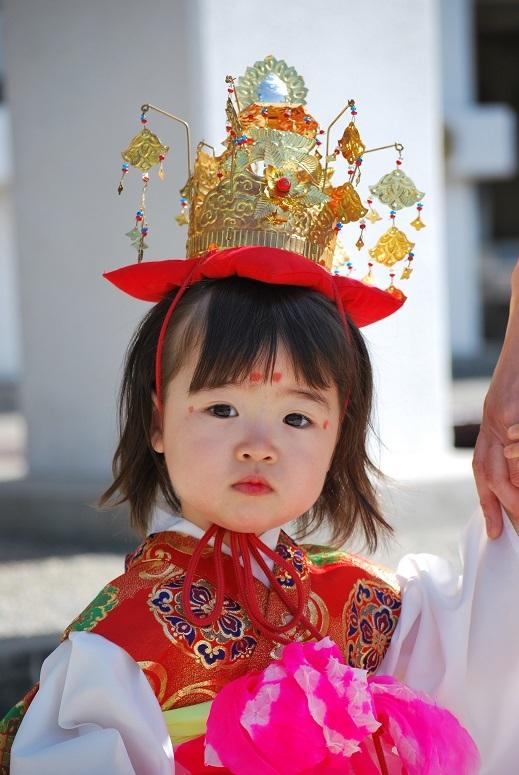 明治維新150年記念 しあわせの稚児行列_f0067122_10112039.jpg