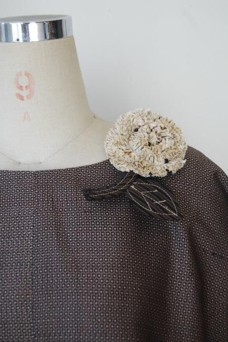 着物リメイク・2枚の紬からブラウス&スカート_d0127925_12503879.jpg