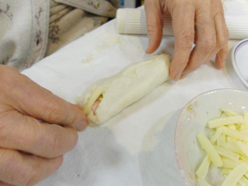 パンレク ~ パニーニ風 ベーコンチーズパン ~_e0222340_1545281.jpg