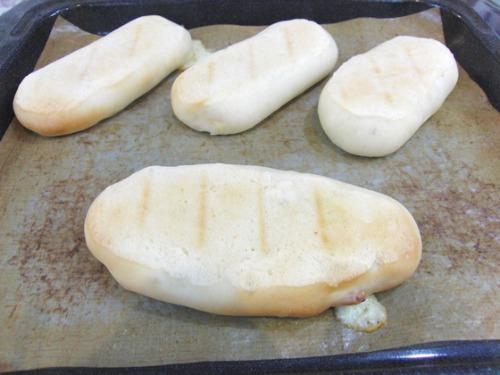 パンレク ~ パニーニ風 ベーコンチーズパン ~_e0222340_15502218.jpg