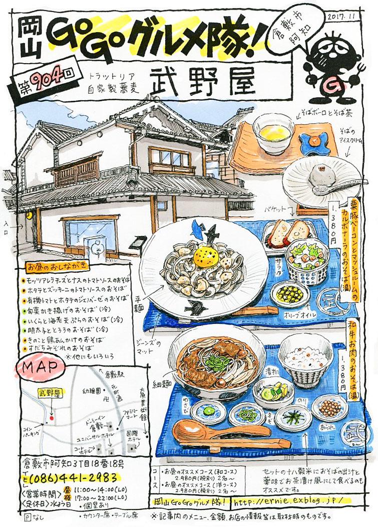 トラットリア自家製蕎麦・武野屋_d0118987_11033173.jpg