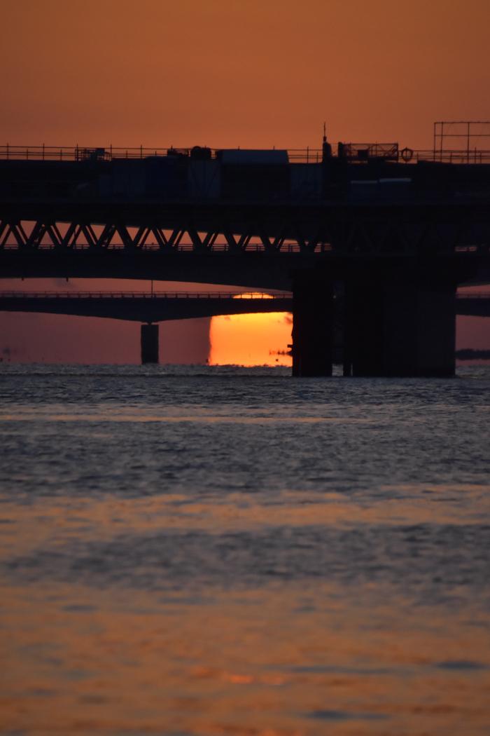 水平線から日の出だよ! そして、春 (*^_^*)_c0049299_22394500.jpg