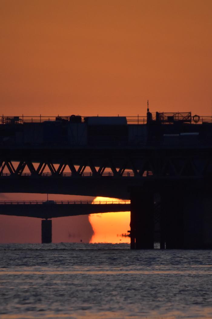 水平線から日の出だよ! そして、春 (*^_^*)_c0049299_22405408.jpg