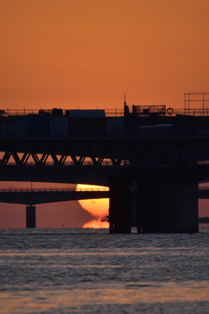 水平線から日の出だよ! そして、春 (*^_^*)_c0049299_22422080.jpg