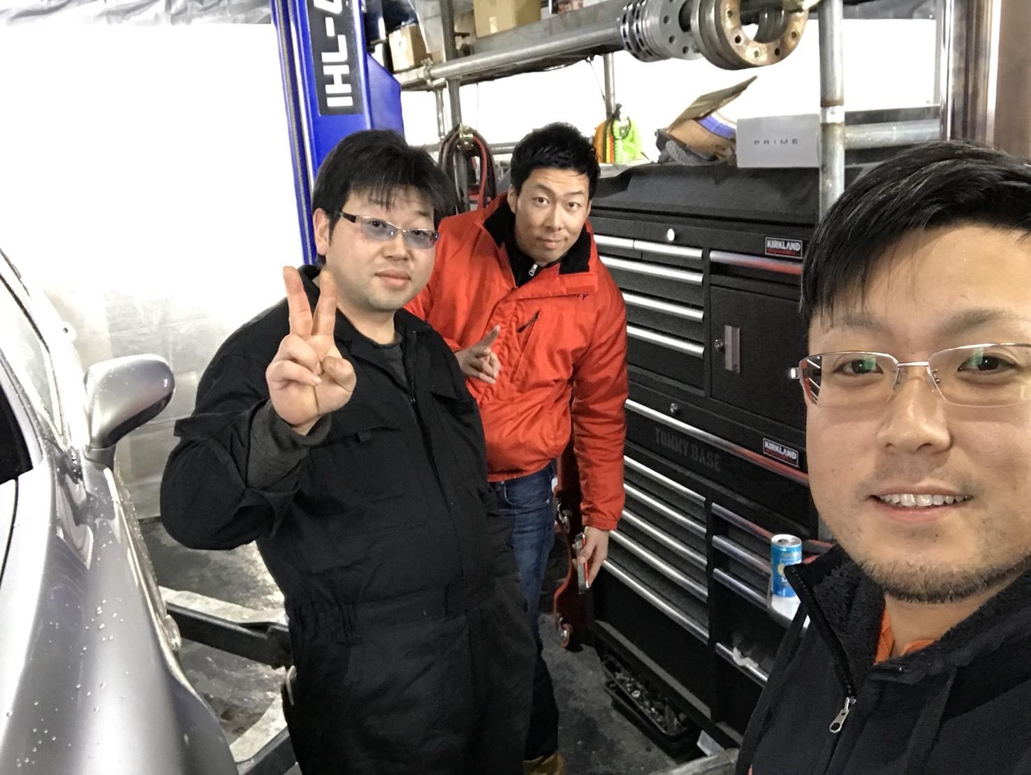 2月21日(水)トミーベース カスタムブログ☆インフィニティー QX56 LX570続々入庫☆_b0127002_11195428.jpg