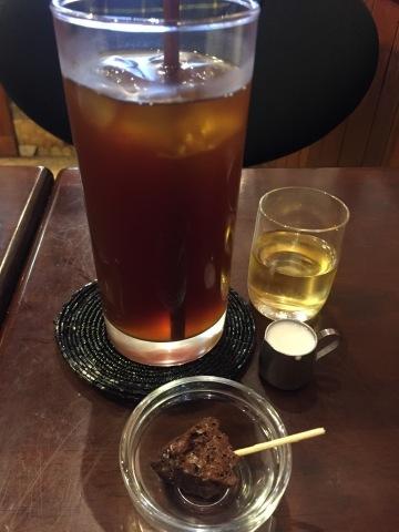 喫茶 1er ぷるみえ (五穀米ライスにベトナム風ビーフシチューのソース)_e0115904_10311030.jpg