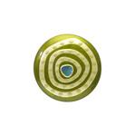 身につける漆 漆のアクセサリー ブローチ 金の迷宮 ピスタチオ色 坂本これくしょんの艶やかで美しくとても軽い和木に漆塗りのアクセサリー  URUSHI SAKAMOTO COLLECTION wearable URUSHI accessories brooch Gilt Labyrinth pistachio color ふっくらとした使いやすい丸いフォルム、上品で奥行き感のあるヨーロピアンテイストの格調あるグリーン色は艶やかに美しい香りたつようなお色、金箔と螺鈿の奥深くへと誘いこまれるようなデザインの人気の蒔絵が印象的、ペンダントトップとしても使えます。 #蒔絵のブローチ #迷宮ブローチ #ヨーロピアンテイスト #金箔蒔絵 #ピスタチオ色 #蒔絵が印象的