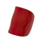身につける漆 蒔絵のアクセサリー バングル サムライブレス 朱色 坂本これくしょんの艶やかで美しくとても軽い「和木に漆塗りのアクセサリー」より、おしゃれをグッと引き立てるシャープで力強いフォルムの wearable URUSHI accessories Bangle Samurai bracelet vermilion color インパクトと存在感をもちあわせたブレスは、腕にひとつ着けるだけで全体がとても華やいで見えます。一本の木からくり抜いて作り出された形はとても軽く、滑らかな曲線がぬくもりを感じさせます。朱色のアクセサリーは還暦のお祝い、プレゼントにも喜ばれています。#漆のバングル #Bangle #Samuraibracelet #vermilion #おしゃれバングル #力強いフォルム #ブレスレッド #バングル #サムライブレス