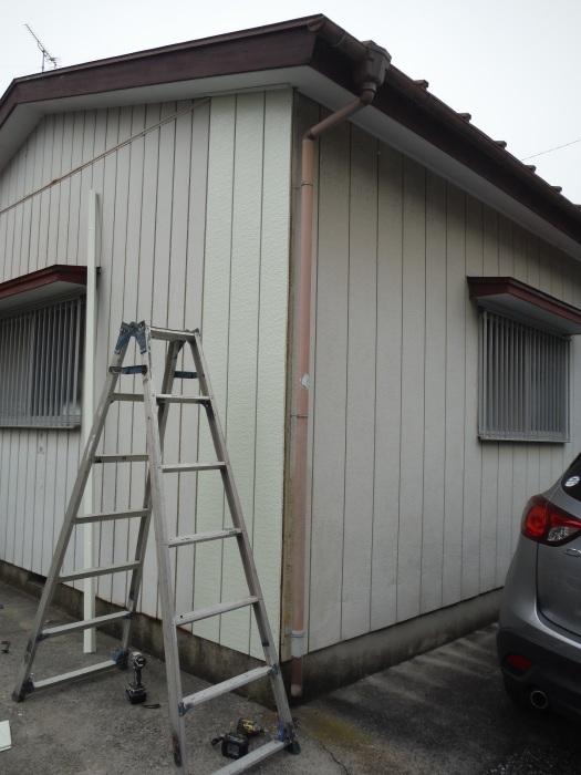 小工事 ~外壁補修 。_d0165368_07063661.jpg