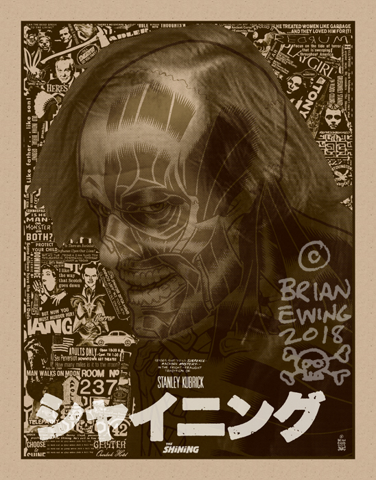 THE SHINING screen print by Brian Ewing_c0155077_16222928.jpg