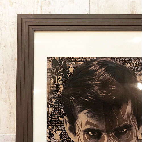 PSYCHO screen print by Brian Ewing_c0155077_17153026.jpg