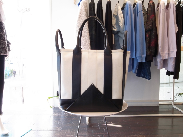 MAISON EUREKA HEAVY CANVAS 2WAY TOTE_f0111683_14041428.jpg