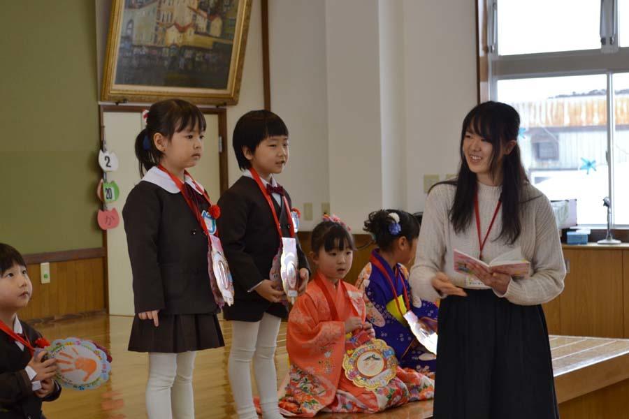 第二幼稚園 2月・3月生まれのお誕生会でした。_d0353789_15021683.jpg