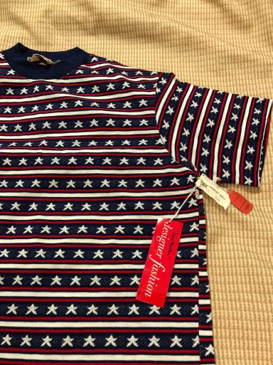 アメリカ仕入れ情報#32  デッドストック!70s all cotton ジャカードTシャツ!_c0144020_01094000.jpg