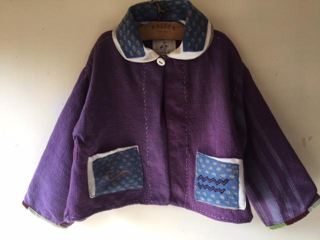 紫のカンタちくちくジャケットジャケット/早川ユミさん_b0207631_10405063.jpg