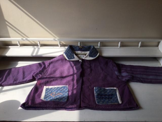 紫のカンタちくちくジャケットジャケット/早川ユミさん_b0207631_10413348.jpg