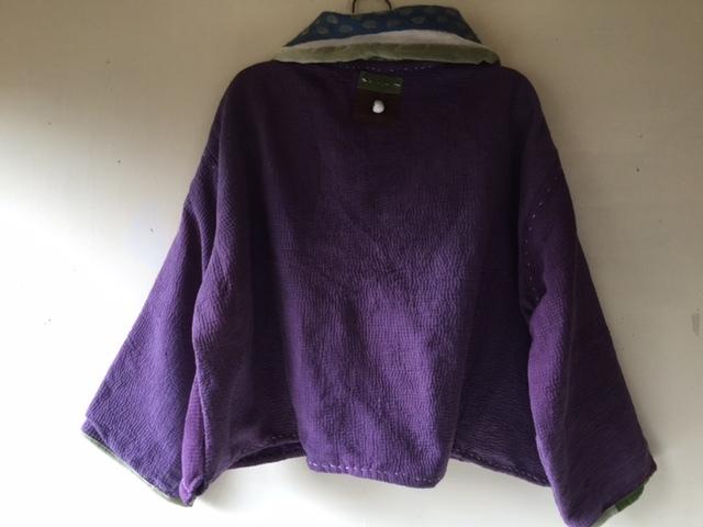 紫のカンタちくちくジャケットジャケット/早川ユミさん_b0207631_10514223.jpg