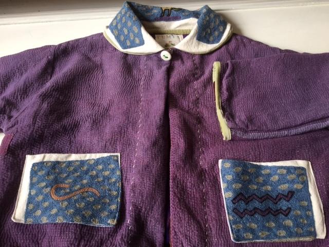 紫のカンタちくちくジャケットジャケット/早川ユミさん_b0207631_10520708.jpg