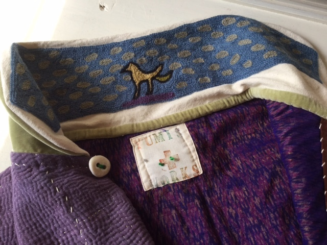 紫のカンタちくちくジャケットジャケット/早川ユミさん_b0207631_10525689.jpg