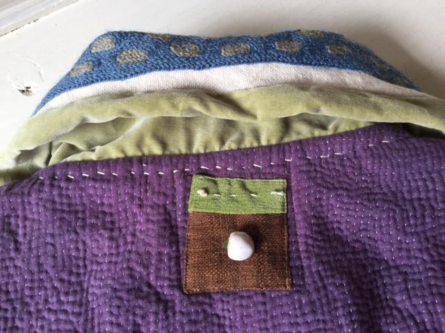 紫のカンタちくちくジャケットジャケット/早川ユミさん_b0207631_10531814.jpg