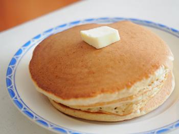 朝ごはんはもちもちパンケーキ_e0238638_17532485.jpg