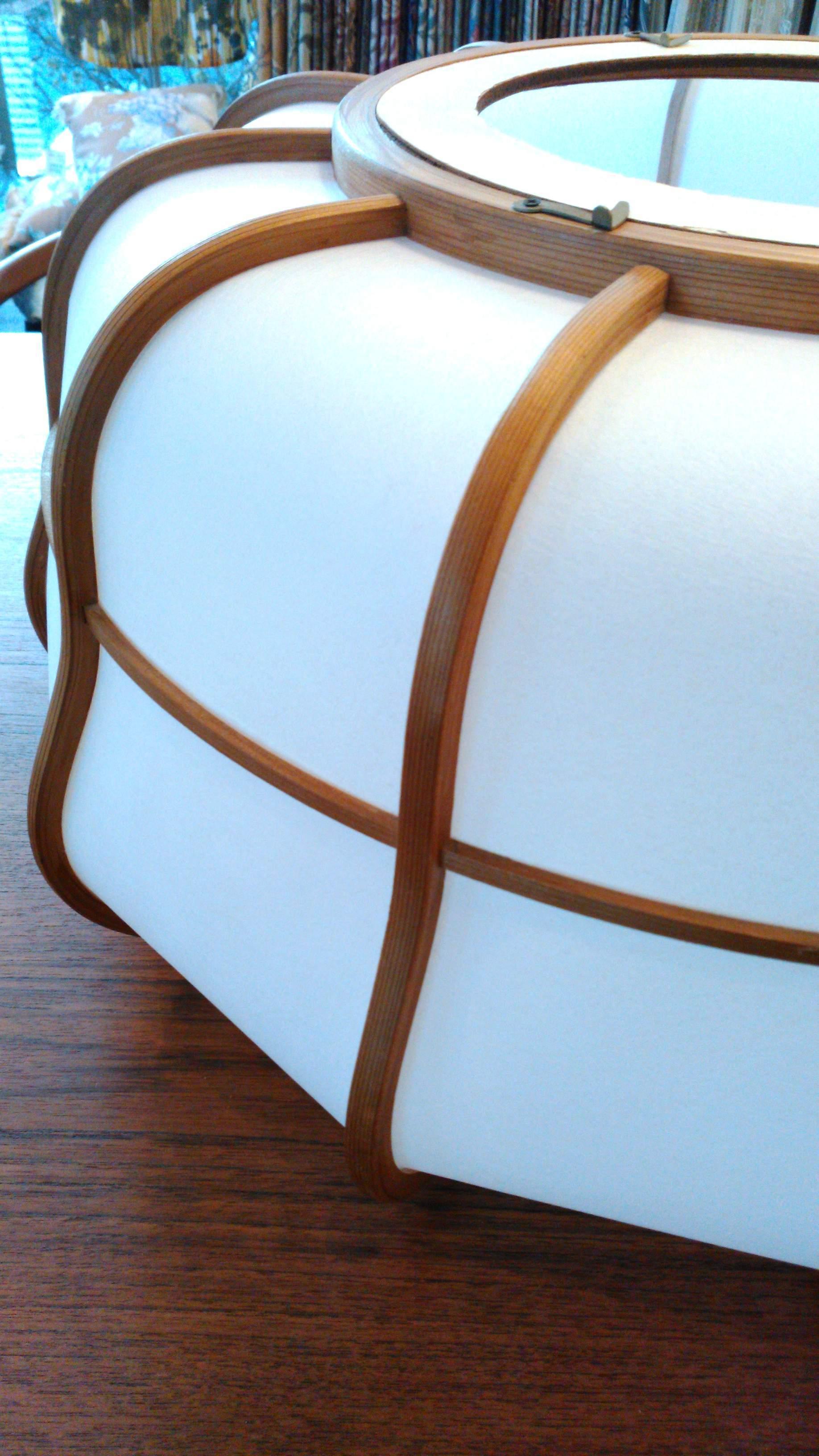 和紙の笠を張替える_c0157866_21311892.jpg