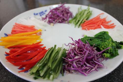 三度目の大邱レポ番外編、お土産レシピ。韓国風蕎麦サラダ、チェンバンククス作ってみた。おまけは「今日なに食べる?」のタッカルビ。_a0223786_15414705.jpg