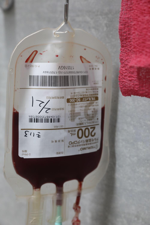 輸血して帰って来ました。_b0275998_01481677.jpg