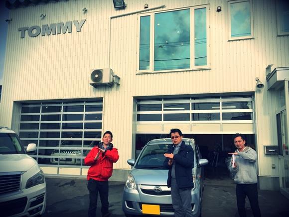 2月23日 金曜日の本店ブログ(´▽`) 本日Fさまミラ納車★ありがとうございます!トミーレンタカー・ランクル、アルファード、ハイエース_b0127002_16365869.jpg