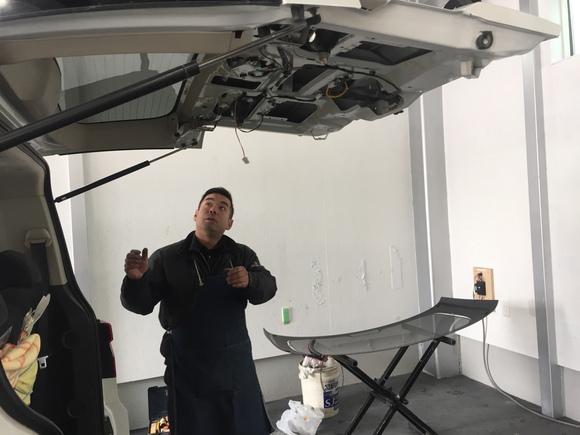 2月23日 金曜日の本店ブログ(´▽`) 本日Fさまミラ納車★ありがとうございます!トミーレンタカー・ランクル、アルファード、ハイエース_b0127002_17514414.jpg