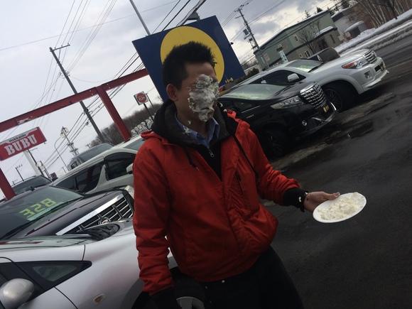 2月23日 金曜日の本店ブログ(´▽`) 本日Fさまミラ納車★ありがとうございます!トミーレンタカー・ランクル、アルファード、ハイエース_b0127002_1817086.jpg