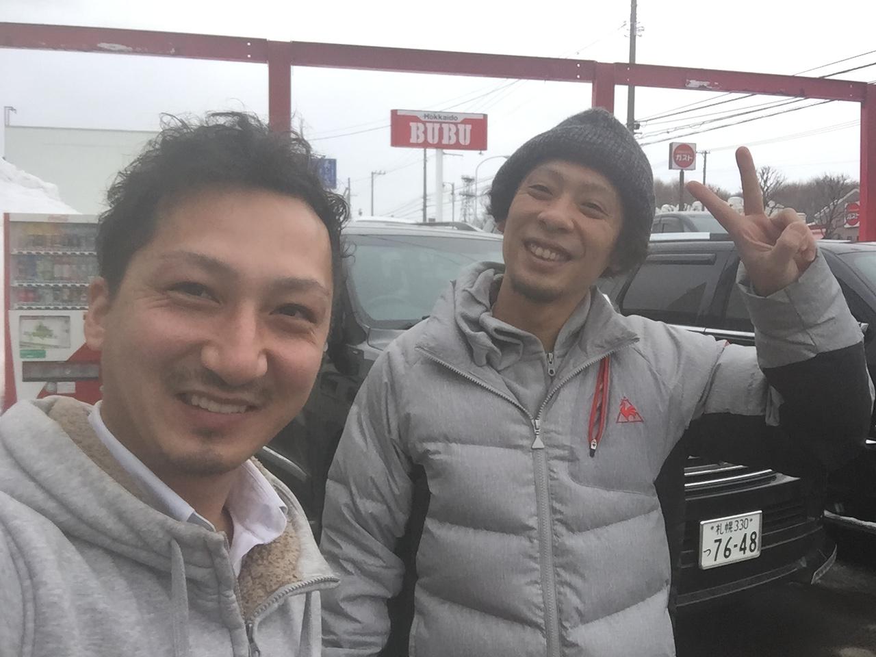 2月23日 金曜日の本店ブログ(´▽`) 本日Fさまミラ納車★ありがとうございます!トミーレンタカー・ランクル、アルファード、ハイエース_b0127002_18232355.jpg