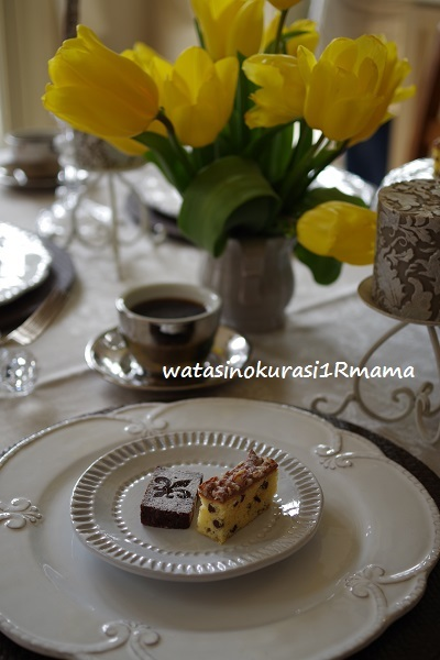 2月お菓子教室 Terrine de chocolat     & White  chocolate brownies_c0365711_14592382.jpg