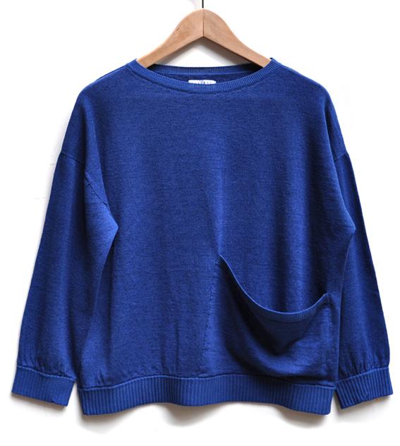 綿麻 ワイドポケットセーター / FACTORY_d0193211_1938725.jpg