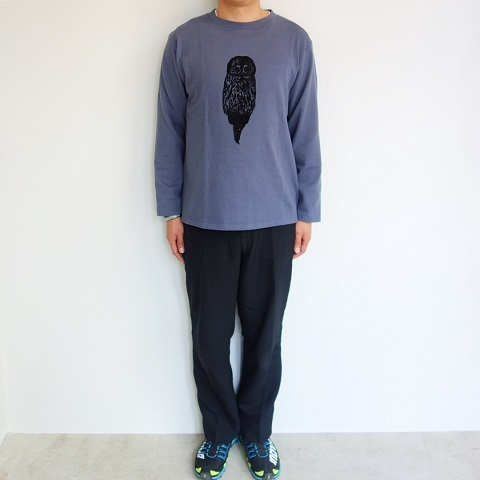 THE NORTH FACE PURPLE LABEL : L/S Graphic Tee_a0234452_17072785.jpg