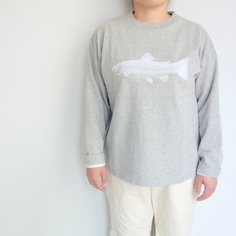 THE NORTH FACE PURPLE LABEL : L/S Graphic Tee_a0234452_17073110.jpg