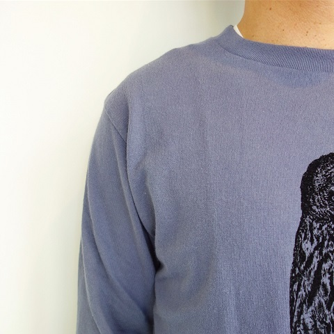 THE NORTH FACE PURPLE LABEL : L/S Graphic Tee_a0234452_17074900.jpg