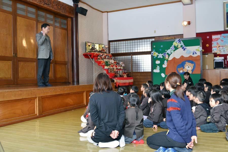 第一幼稚園のお誕生会 2月・3月生まれ_d0353789_14264600.jpg