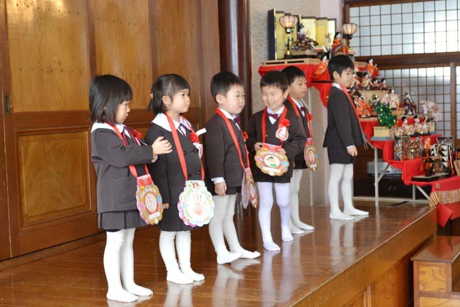 第一幼稚園のお誕生会 2月・3月生まれ_d0353789_14271507.jpg