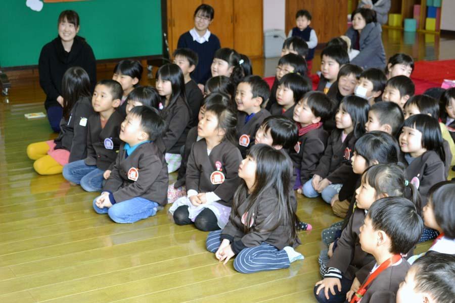 第一幼稚園のお誕生会 2月・3月生まれ_d0353789_14282390.jpg