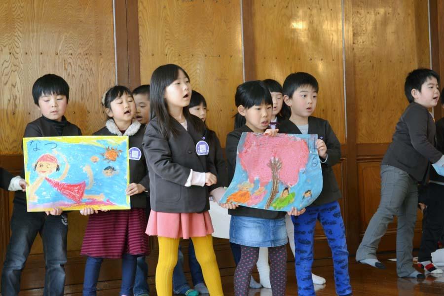 第一幼稚園のお誕生会 2月・3月生まれ_d0353789_14283644.jpg
