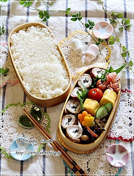 白はんぺんで肉巻き弁当と今夜はあさりの酒蒸し♪_f0348032_18263139.jpg