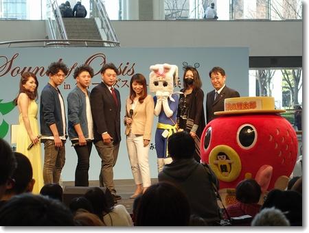 佐久市presents Sound of Oasis in クイーンズスクエア横浜_c0147448_2011143.jpg