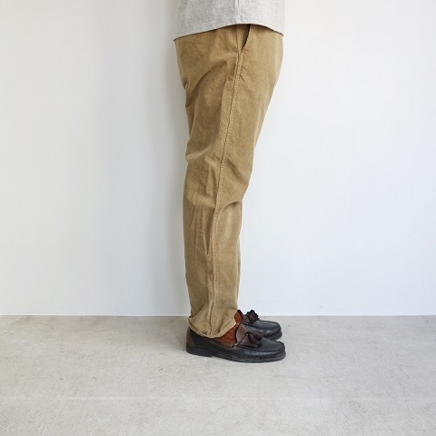 THE NORTH FACE PURPLE LABEL : Corduroy Tapered Pants_a0234452_17354794.jpg